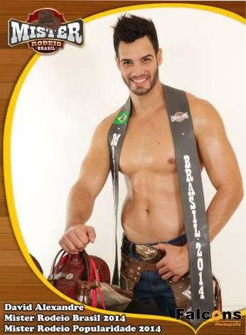 Mister Rodeio Brasil 2014 - David Alexandre